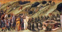 Předání řehole patriarchou Albertem poustevníkům na Karmelu